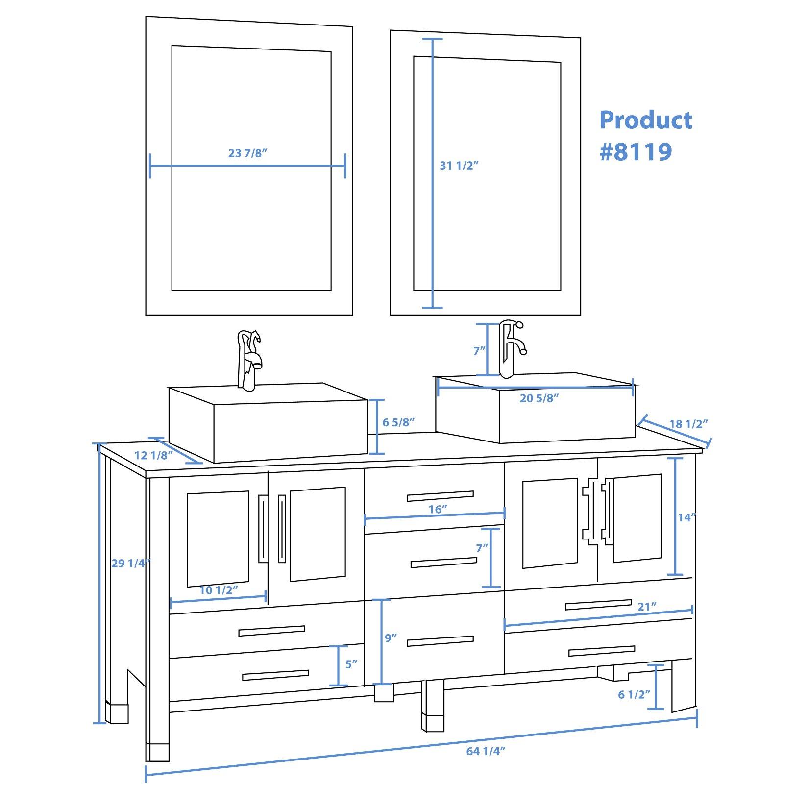 Aspen Cambridge Bedroom Set Cambridge Plumbing Aspen 63 Quot Double Bathroom Vanity Set