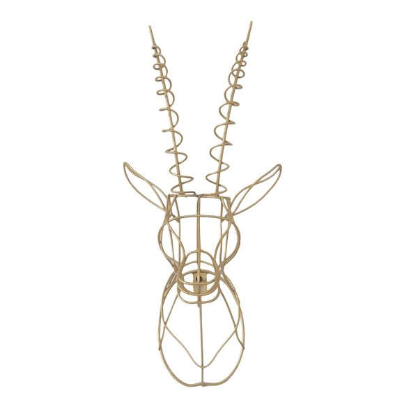 Wire Wall Decor gazelle wire wall décor | joss & main