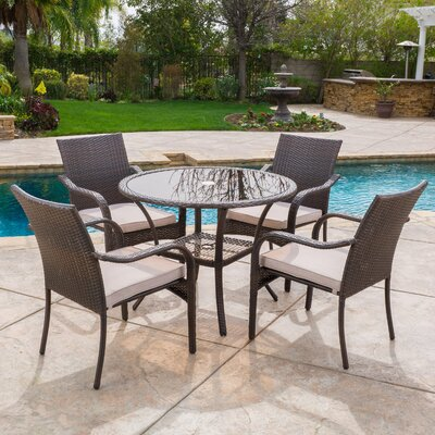 Round Patio Dining Sets You\'ll Love | Wayfair