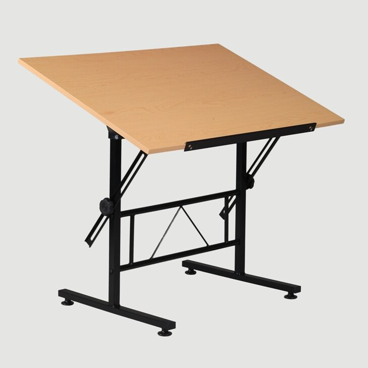 default_name - Martin Universal Design Smart Melamine Top Drafting Table
