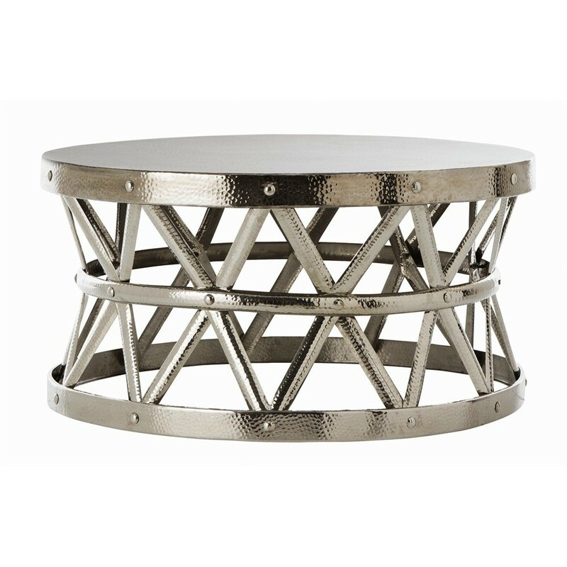 fashion n you hammered coffee table & reviews | wayfair