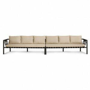 Jibe Outdoor Extra Long Sofa With Cushions