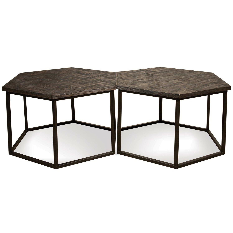 Aguilar Hexagon Coffee Table - Brayden Studio Aguilar Hexagon Coffee Table & Reviews Wayfair
