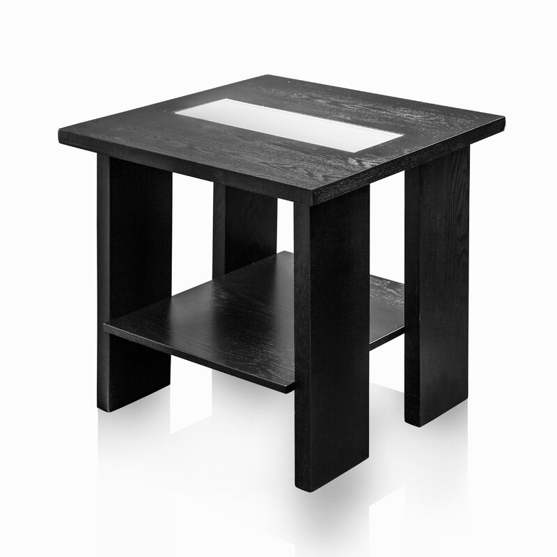 Hokku designs liluxe end table wayfair for Transmutation table 85 items
