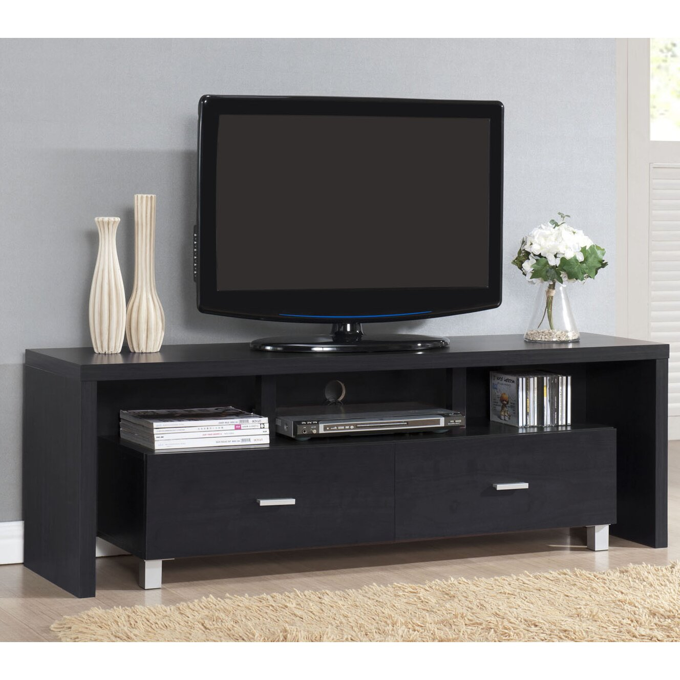 Tv Stand Designs Chennai : Hokku designs seema tv stand for tvs up to quot reviews