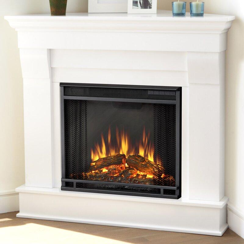 Electric Fireplace real flame electric fireplace : Real Flame Chateau Corner Electric Fireplace & Reviews | Wayfair