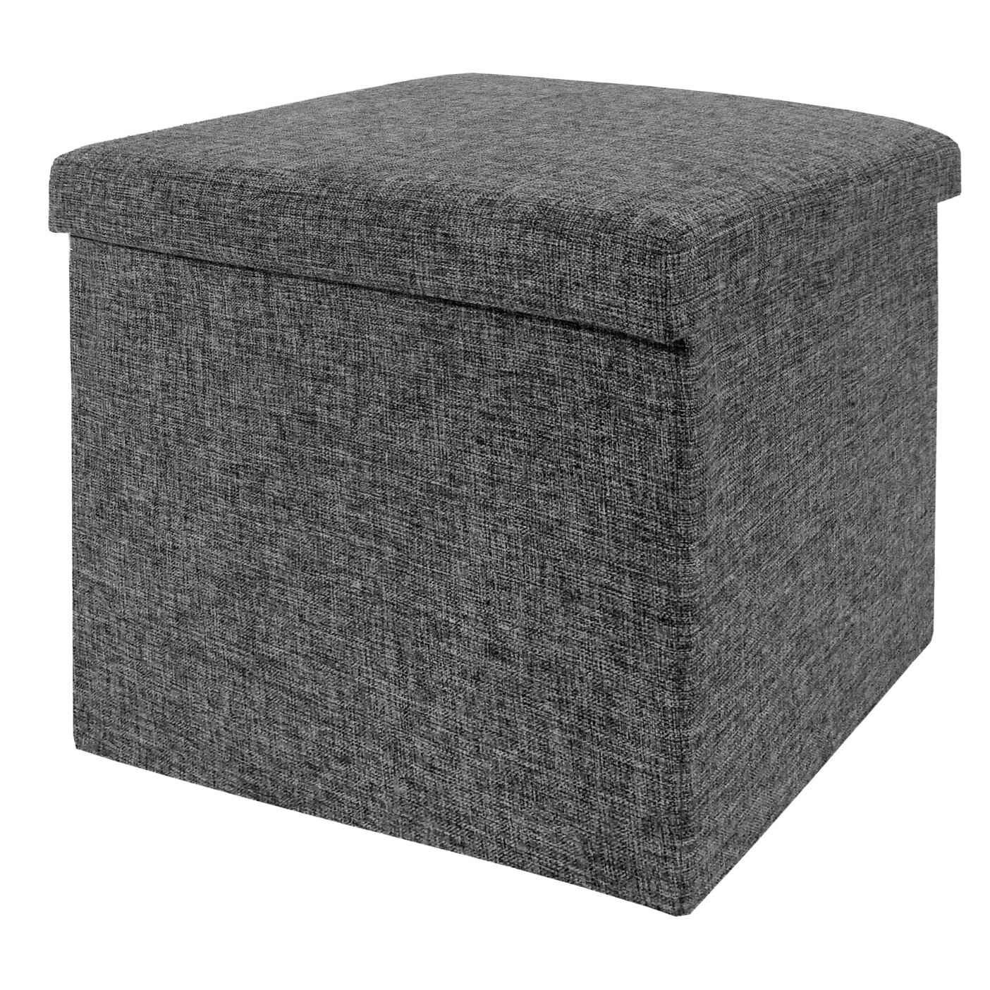 Zipcode™ Design Zosia Foldable Storage Foot Stool Cube Ottoman & Reviews |  Wayfair - Zipcode™ Design Zosia Foldable Storage Foot Stool Cube Ottoman