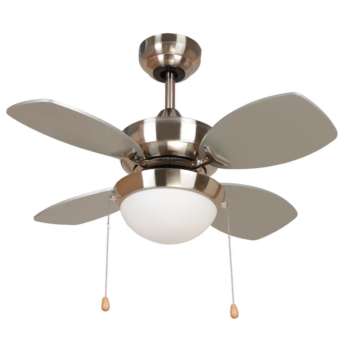 Yosemite home decor 28 hurricane 4 blade ceiling fan for Home decorations fan