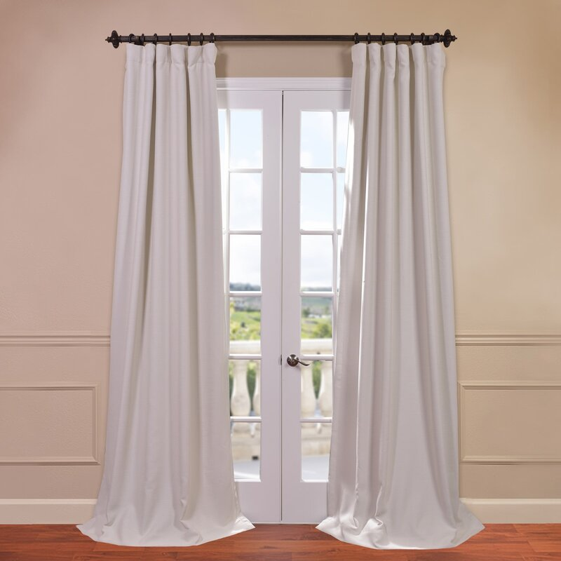 Freeman Solid Blackout Single Curtain Panel