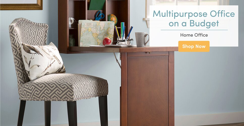Miraculous Home Office Youll Love Wayfair Largest Home Design Picture Inspirations Pitcheantrous