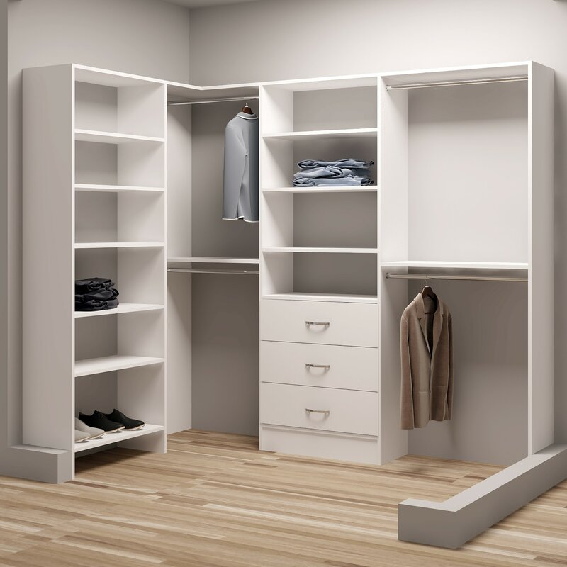 Demure Design  W Closet System