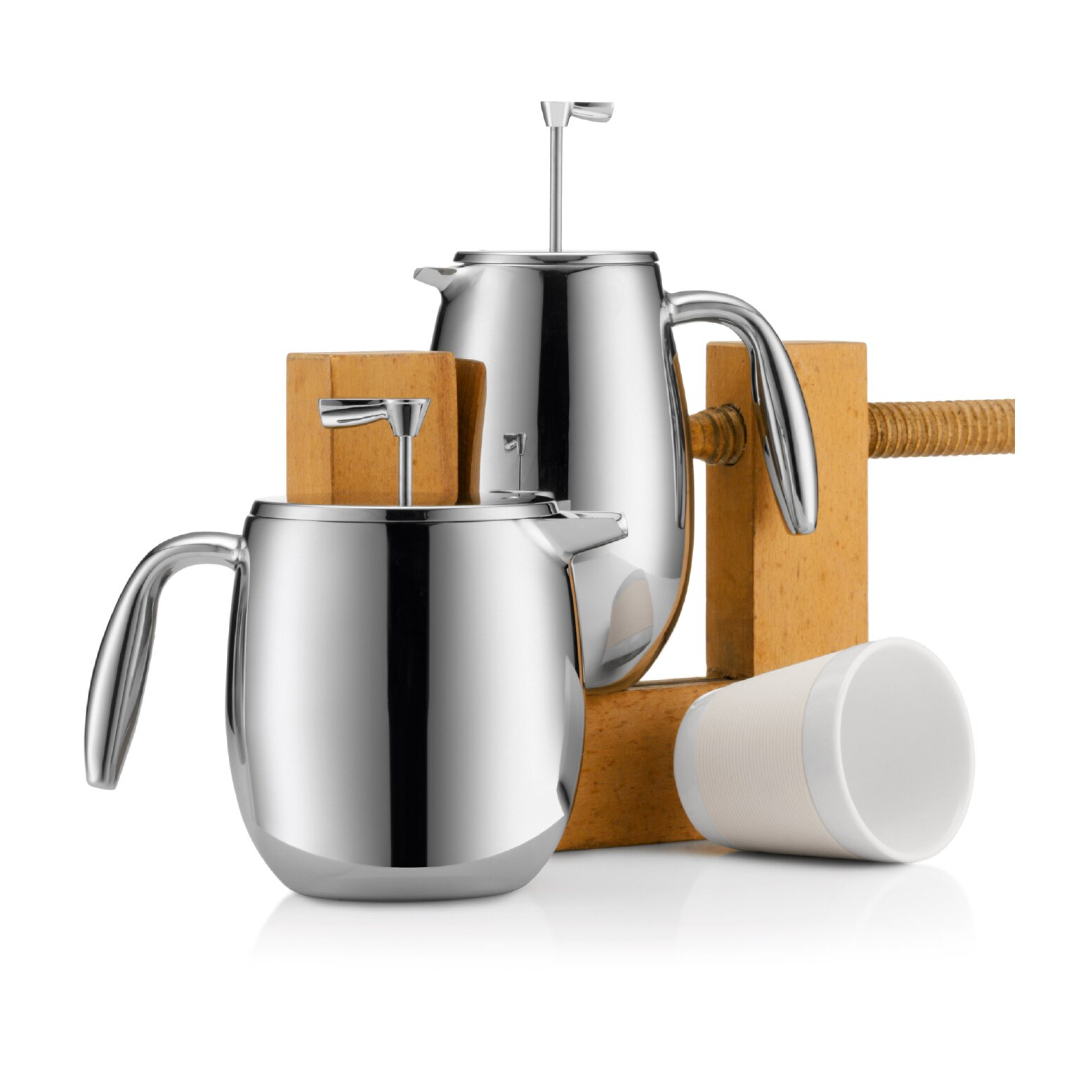 Columbia+4+Cup+Double+Wall+French+Press+Coffee+Maker Bodum Columbia French Press Coffee Maker Double Wall  Cup