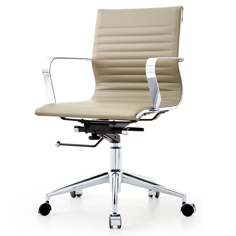 meelano desk chair & reviews | wayfair