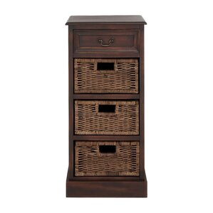 british styled wooden accent cabinet