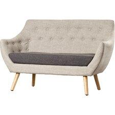 Zack Mid-Century Fabric Sofa
