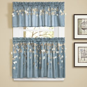 kitchen curtains you'll love | wayfair