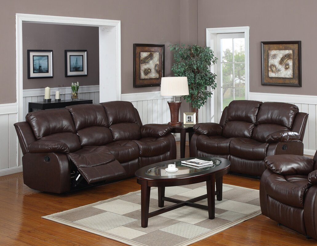 Latitude Run Bryce 2 Piece Reclining Living Room Set & Reviews ...