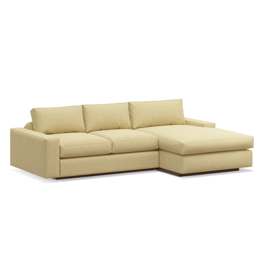 Truemodern Jackson Sofa With Chaise Reviews