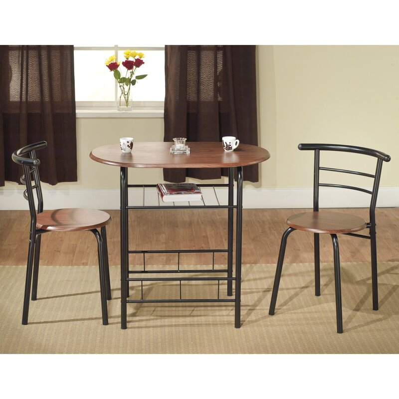 Volmer 3 Piece Compact Dining Set. Kitchen   Dining Room Sets You ll Love