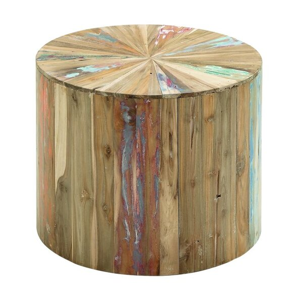 - Cole & Grey Reclaimed Wood End Table & Reviews Wayfair