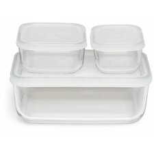 Backer Compact 3 Container Food Storage Set