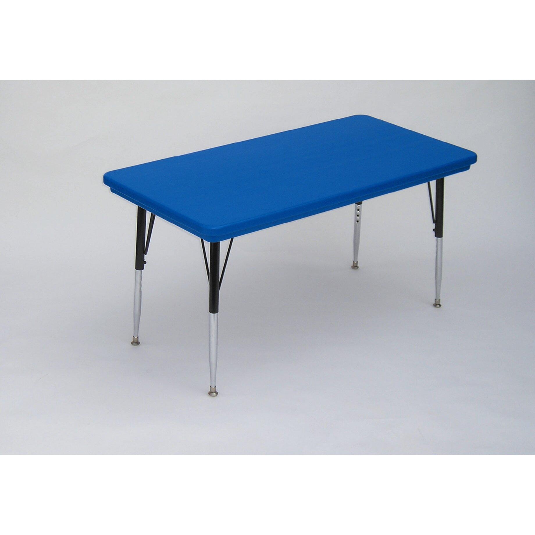 correll inc 72 x 30 rectangular activity table. Black Bedroom Furniture Sets. Home Design Ideas