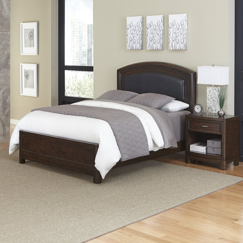 Furniture Pieces Names: Home Styles Crescent Hill Panel 2 Piece Bedroom Set
