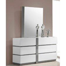 Gowan 6 Drawer Dresser with Mirror