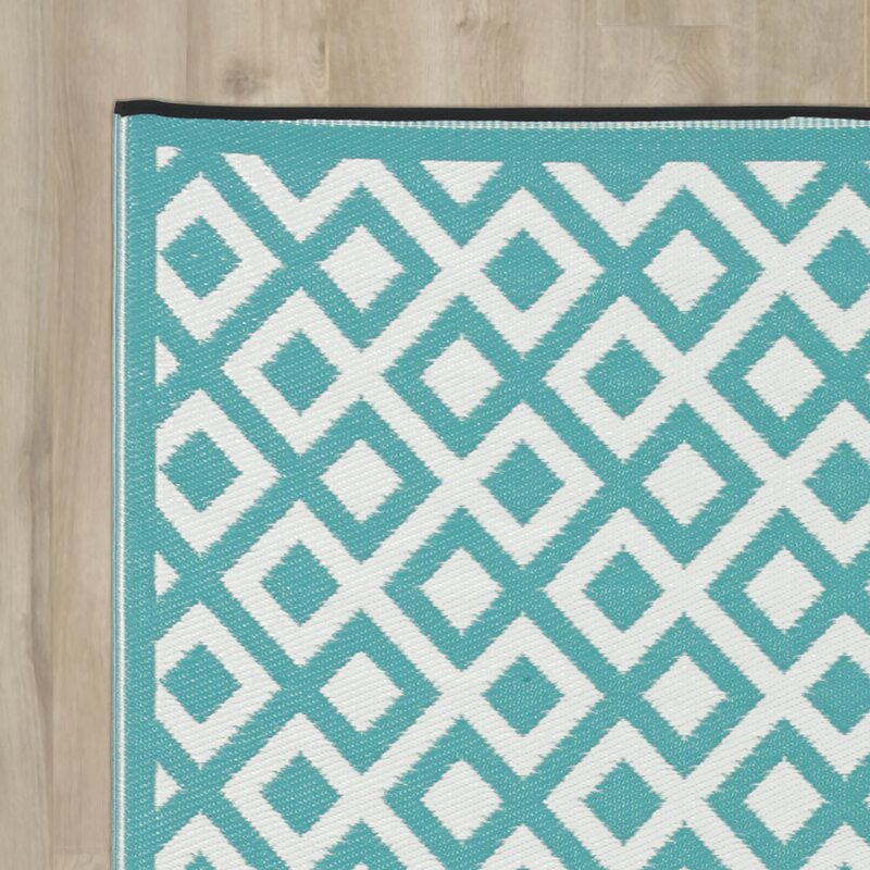 Riley Ave Reese Blue White Rug Amp Reviews Wayfair Co Uk