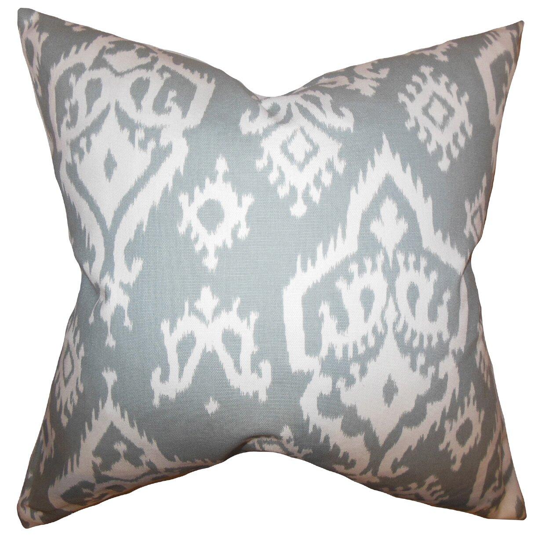the pillow collection baraka ikat throw pillow  reviews  wayfair  - baraka ikat throw pillow