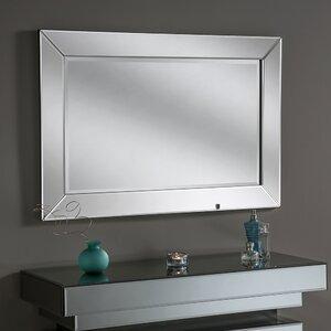 Beveled Contemporary Wall Mirror