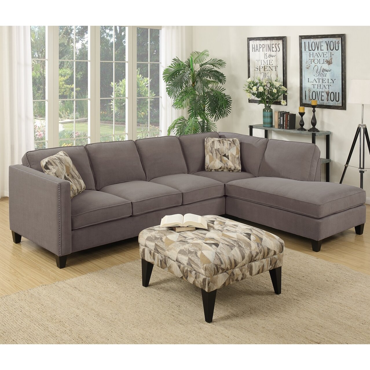 Kara Matching Ottoman Source · Kara Chaise Sectional Dimensions thesecretconsul com  sc 1 st  thesecretconsul.com : kara chaise sectional - Sectionals, Sofas & Couches