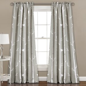 mendon thermal blackout curtain panels set of 2