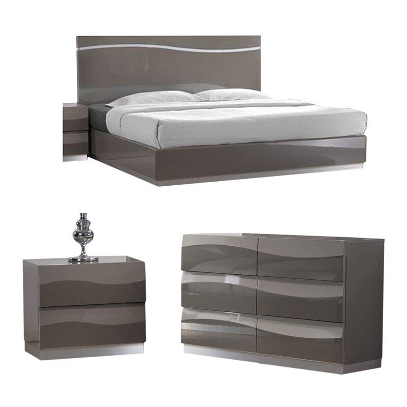 Chintaly Delhi Platform Customizable Bedroom Set & Reviews