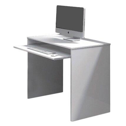 home etc computertisch taurus mit tastaturauszug bewertungen. Black Bedroom Furniture Sets. Home Design Ideas