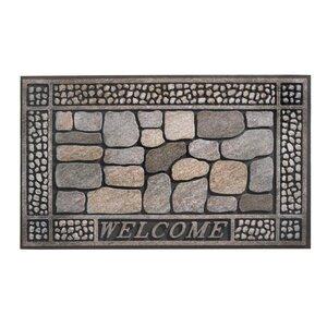 Eco Master Welcome Message Doormat