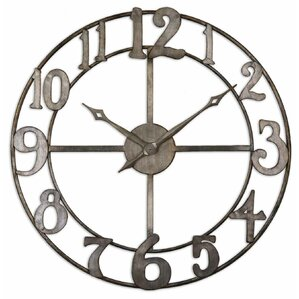 Matthew Round Oversized Wall Clock