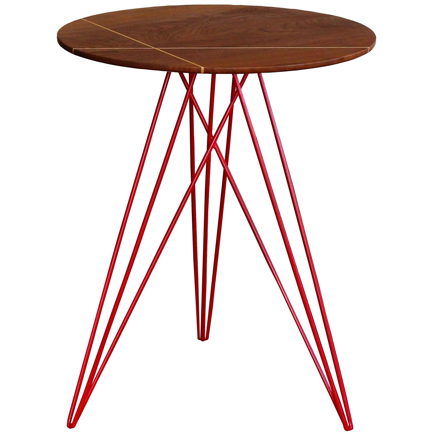 Tronk Design Hudson End Table With Inlay Amp Reviews Wayfair
