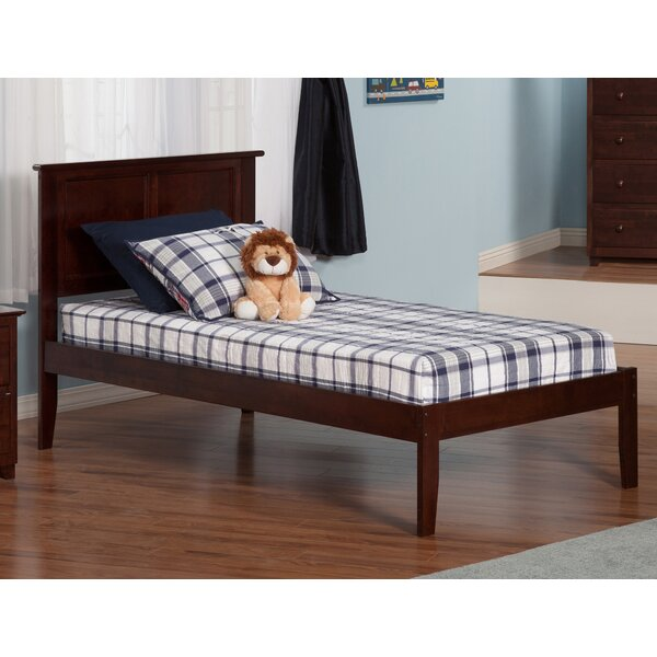harriet bee alanna extra long twin platform bed with open foot reviews wayfair - Extra Long Twin Bed Frame