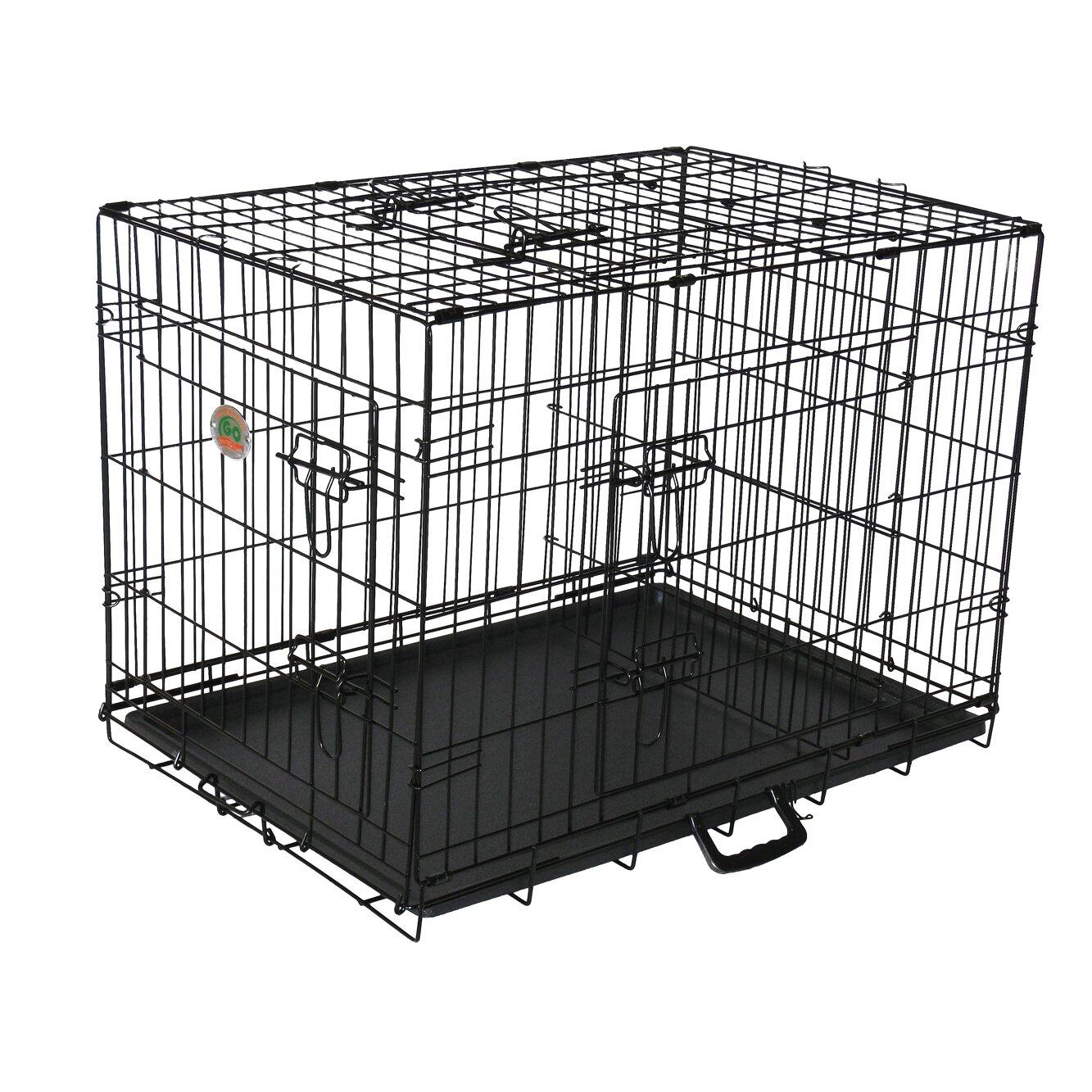 Go Pet Club 3 Door Pet Crate Reviews Wayfair