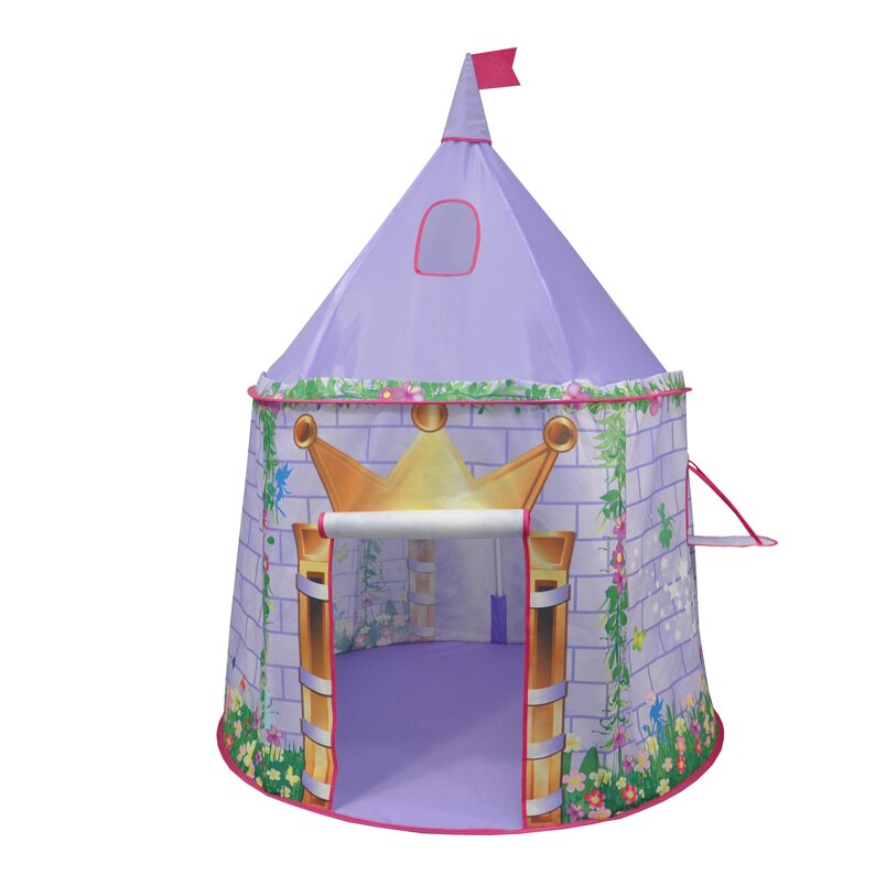 checkey limited tentsy princess castle play tent reviews wayfair. Black Bedroom Furniture Sets. Home Design Ideas