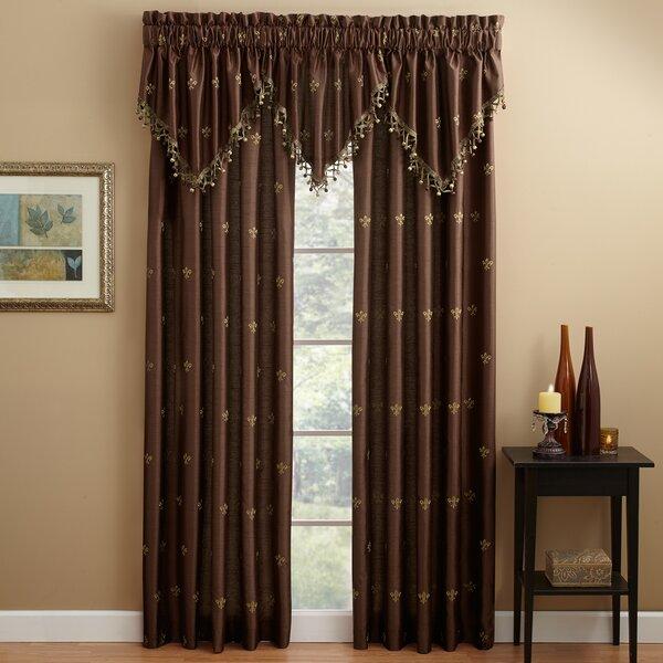 Croscill Lisa Fleur De Lis Lined Single Curtain Panel U0026 Reviews | Wayfair