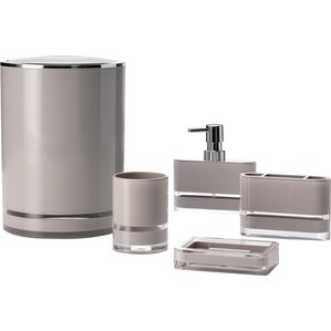 Majesty 5 Piece Bathroom Accessory Set