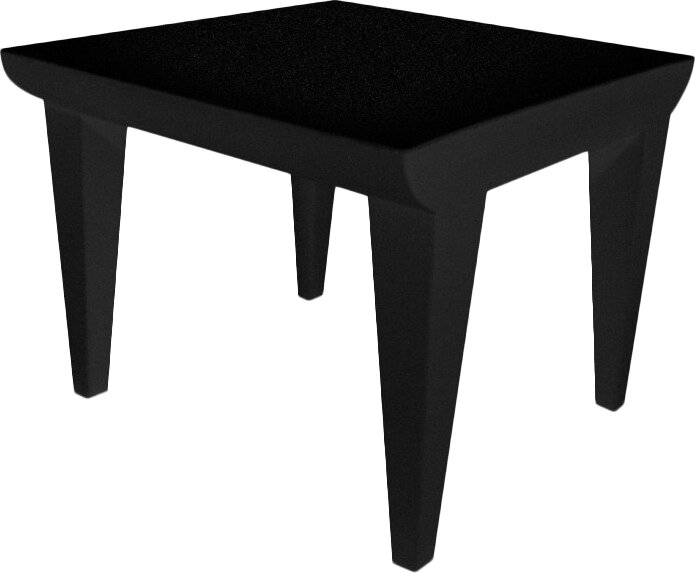 Bubble club end table reviews allmodern for Transmutation table 85 items