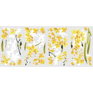 Yellow Wall Decals Youll Love Wayfair - Yellow wall decals