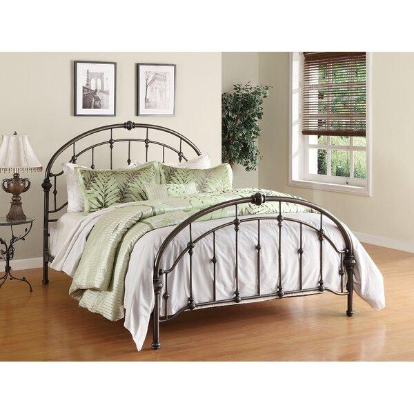 alcott hill homestead queen metal bed reviews wayfair - Metal Frame Bed Queen