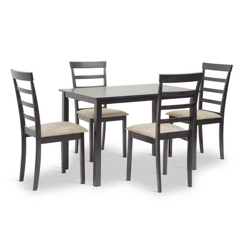 Wholesale Interiors Baxton Studio Jet Sun 5 Piece Dining