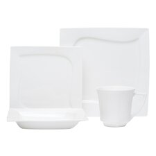 Reed 16 Piece Dinnerware Set, Service for 4
