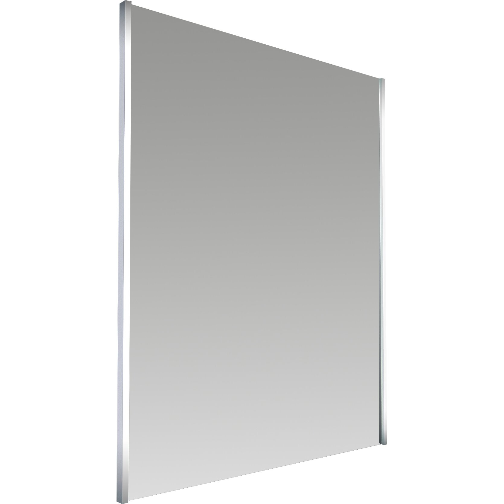 saxby omega led illuminated bathroom mirror with shelf and shaver