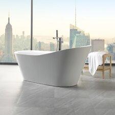 "Arges 70.8"" x 32"" Freestanding Soaking Bathtub"